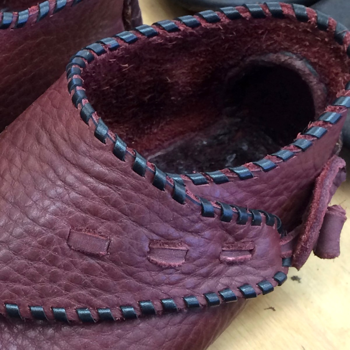 Leather color - Redwood